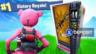 Win... but only get loot from the New Vending Machine (Fortnite)