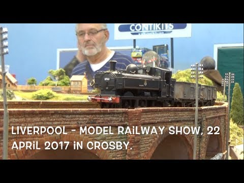 LIVERPOOL   Model railway show 22 April 2017 in Crosby