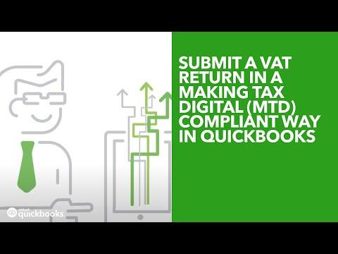 Submit A VAT Return In A Making Tax Digital (MTD) Compliant Way In QuickBooks