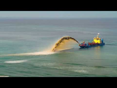 Gold Coast Sand Dredging Aug 2017