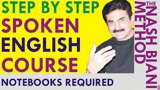 learn english grammar through hindi english grammar speak english note books needed for the course