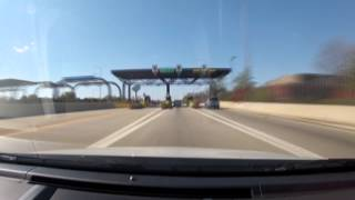 Chicago at 600 MPH (Indiana to Wisconsin via I-90/I-94) GoPro HD 10x Timelapse