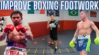 Improve Your Footwork F๐r Boxing | 4 Exercises/Drills