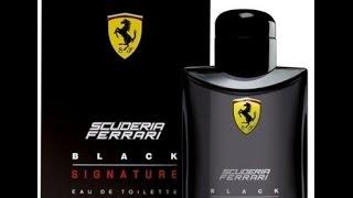 Ferrari Scuderia Black Signature Eau De Toilette 125ml