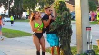 OMG! The best bushman prank you have seen
