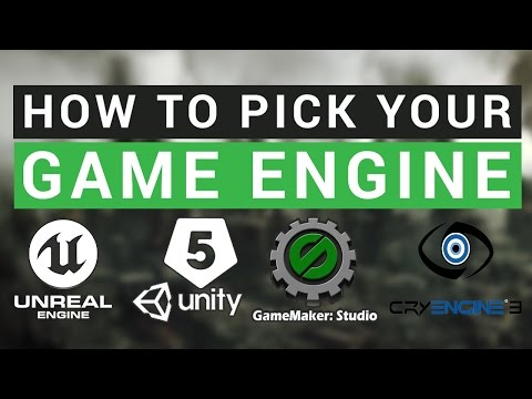 How To Pick a Game Engine
