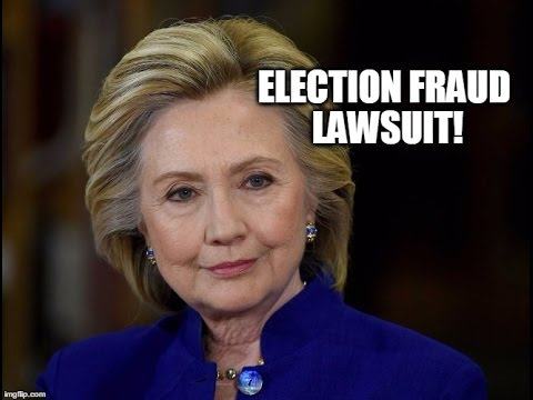 BREAKING: This Lawsuit Might End Hillary's Run & Prove Election Fraud!
