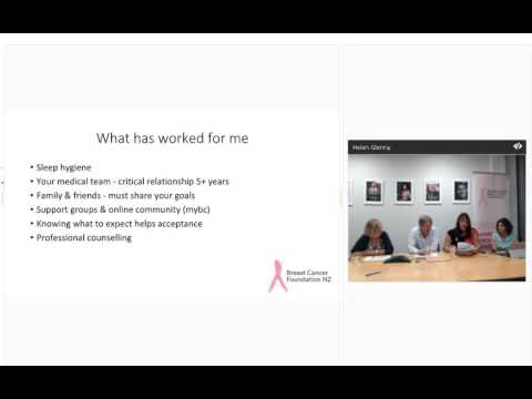 BCFNZ Webinar 2: Learning to love Tamoxifen and AIs
