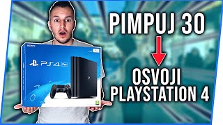 PIMPUJ 30 = OSVOJI PLAYSTATION 4