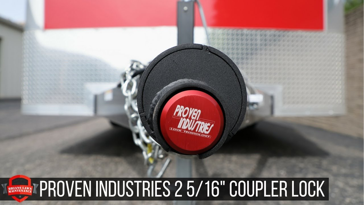 Proven Industries 2 5 16th Coupler Lock The Best Lock