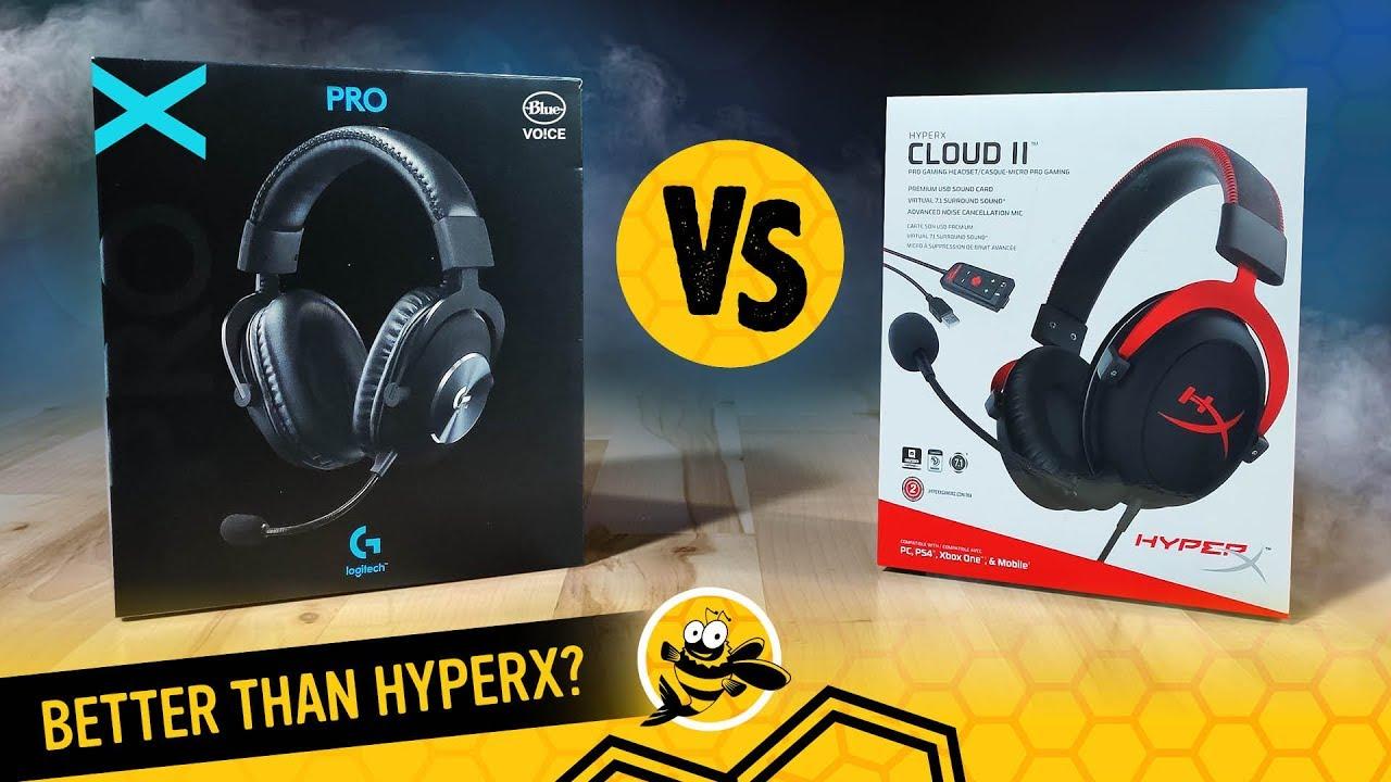 Logitech G Pro X vs  HyperX Cloud II Gaming Headsets: Should HyperX Be  Worried?