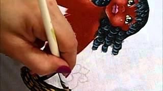 Boneca Patrícia – Como pintar boneca negra 2-2