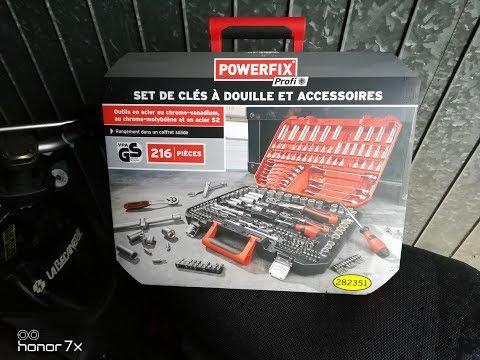 Repeat Clé A Cliquet Lidl Powerfix 8 En 1 Et Multifonction