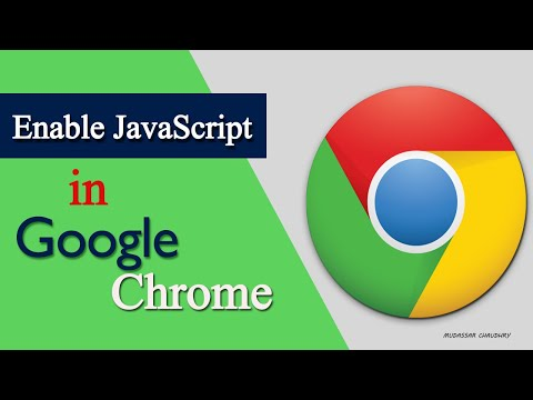 How To Enable Javascript In Google Chrome