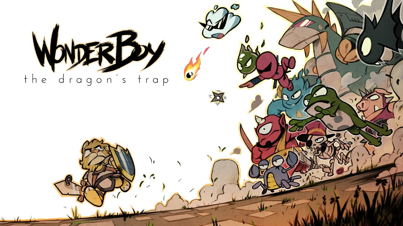 Resultado de imagem para Wonder Boy: The Dragon's Trap