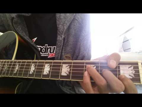 Cover gitar dhen (7warna -ku ukir indah namamu)
