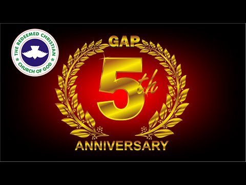 RCCG GAP Dubai 5th YEAR ANNIVERSARY