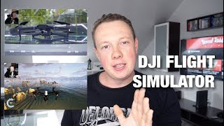 Dji Flight Simulator TEST - Not with Mavic 2 Pro and Zoom Remote ? (With Subtitels)