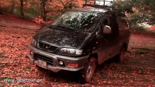off road mitsubishi  Delica Club Georgia