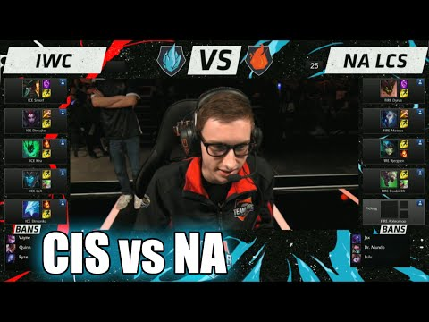 IWC vs NA LCS | Day 2 LoL All-Stars 2015 in Los Angeles | CIS (ICE) vs NA (FIRE) #Allstar