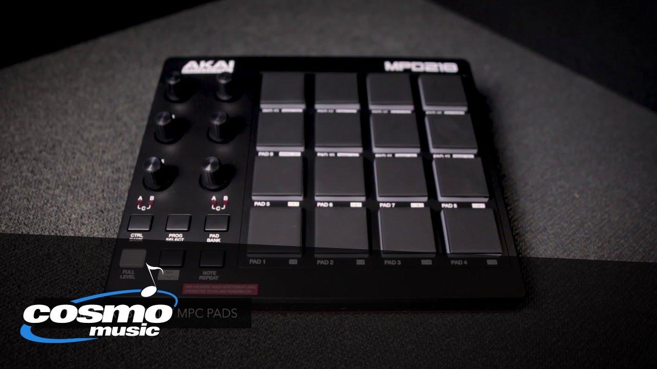 Akai Professional MPD218 USB Pad Controller