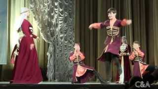 Abkhaz Dance Abaza Абхазский Танец Абаза