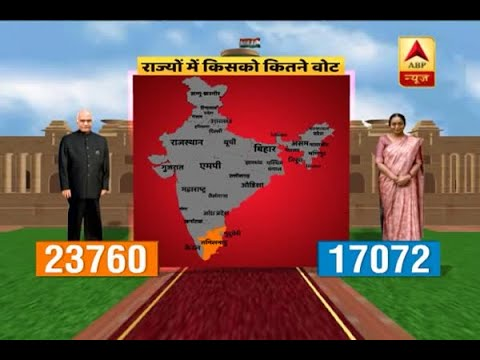 Presidential Election 2017: Analysis of total vote share between Ram Nath Kovind and Meira