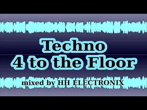 Dj Selection Techno - Four to the Floor Dj Mix 2015 (techno music dj mix)