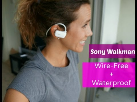 Sony Wireless Waterproof Sport Walkman Review #RunChat - RunToTheFinish