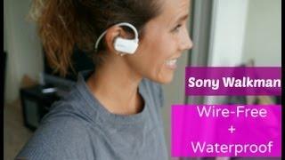 Sony Wireless Waterproof Sport Walkman Review #RunChat - RunToTheFinish