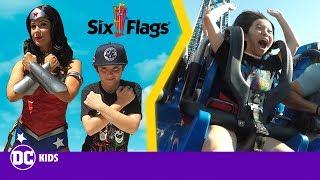 Six Flags Justice League Scavenger Hunt! | DC Kids Show