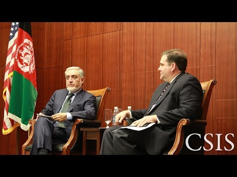A Conversation with Dr. Abdullah Abdullah on the Future of Afghanistan