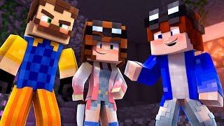 Minecraft Adventures - Murder Mystery with HELLO NEIGHBOR? thumbnail