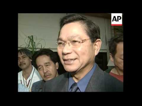 Filipino politican wanted by US prepares to leave for US