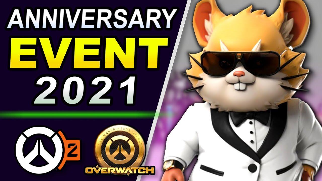 Download Overwatch ANNIVERSARY 2021 - Event Start Date, New Skins, & Overwatch 2