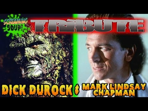 Screaming Soup! Tribute to Swamp Thing: The Series costars, Dick Durock and Mark Lindsay Chapman