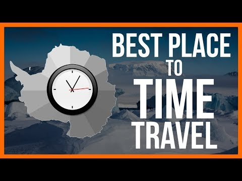 The Best Place to Time Travel is in Antarctica
