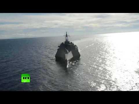 RAW: USS Coronado mengambil bahagian dalam latihan bersama dengan Angkatan Laut Filipina