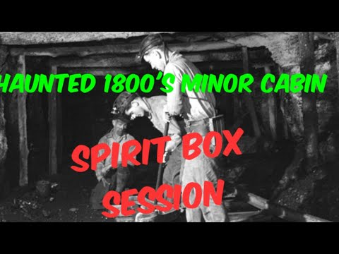 Haunted Miner's Ice Cabin Good Springs Nevada, Paranormal Activity, Paranormal,  Episode 40