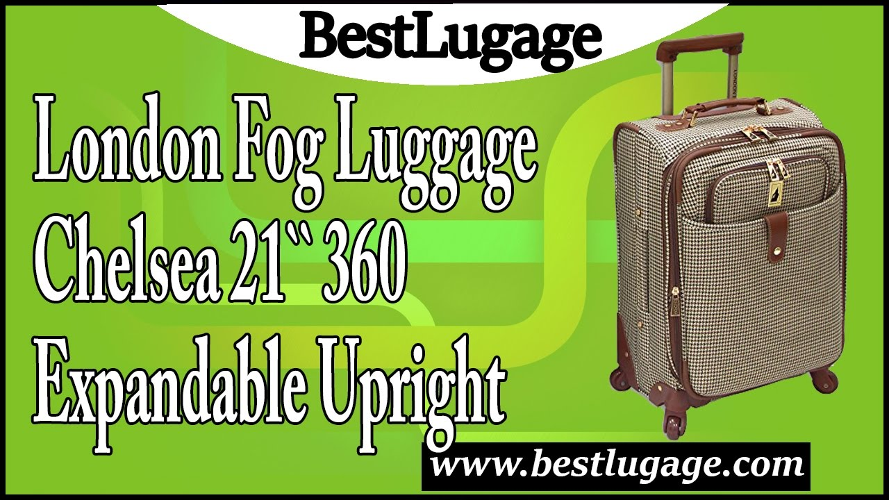 london fog luggage chelsea 21 inch 360 expandable upright suiter review - London Fog Luggage