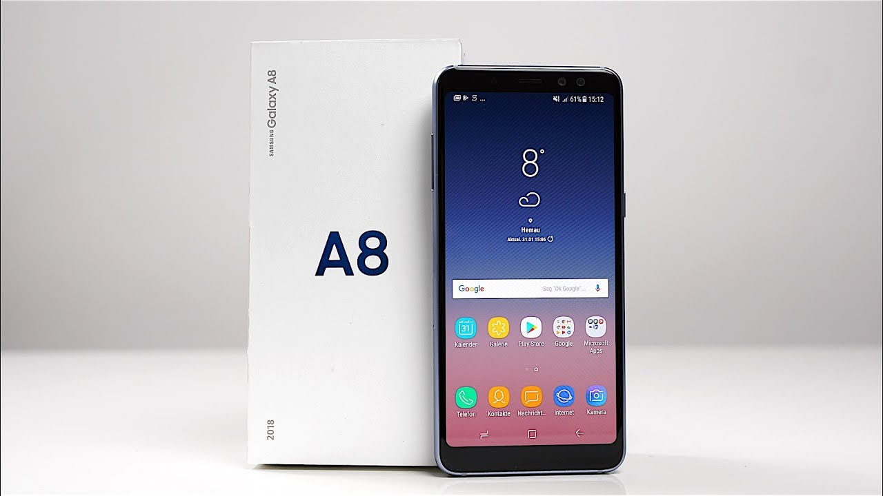 unboxing samsung galaxy a8 2018 deutsch swagtab youtube. Black Bedroom Furniture Sets. Home Design Ideas