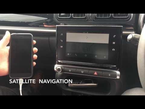 Android Auto Demo Citroen C3