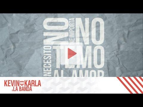 Strong (spanish version) - Kevin Karla & La Banda (Lyric Video)