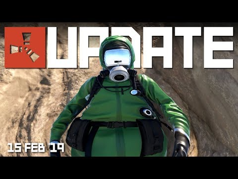 HEAVY scientists? Texture streaming | Rust update 15th February 2019 thumbnail
