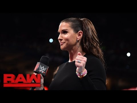 Stephanie McMahon & Mick Foley address Raw's Survivor Series teams: Raw, Nov. 14, 2016 thumbnail