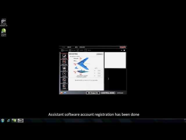 DJI Naza-M Assistant—Assistant Software Registration