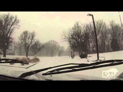 2-14-16 Carbondale, IL Heavy Snow