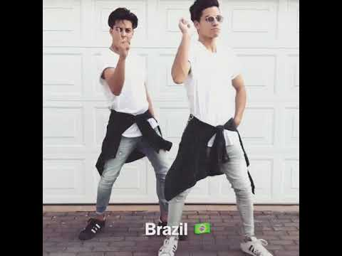 Nick & Max (twins) - Dance travel into the countries. Part 2