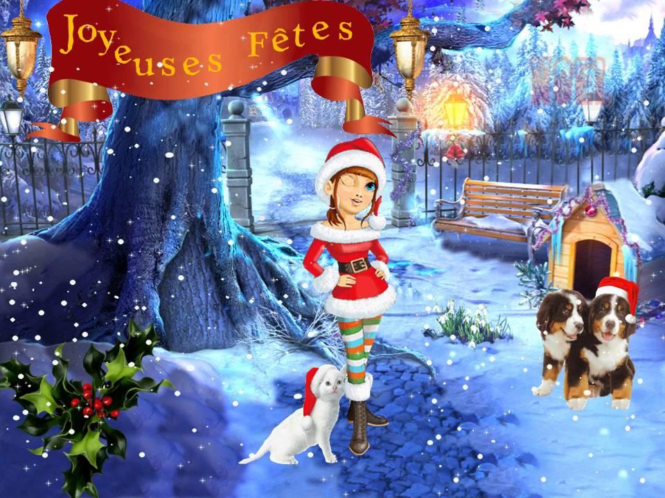 cartes Noel Nouvel an --cartes virtuelles - YouTube