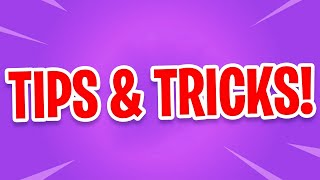 TIPS VOOR JOU IN FORTNITE! - (Fortnite: Battle Royale Nederlands)